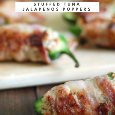 Bacon Wrapped Stuffed Tuna Jalapeños Poppers Recipe