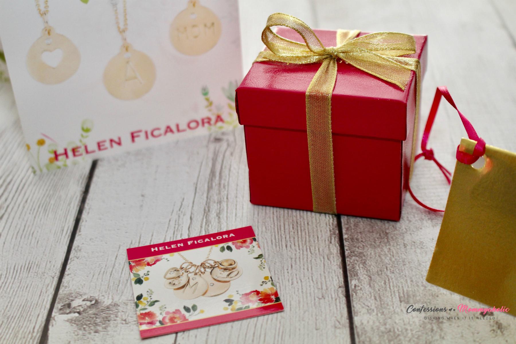 Helen Ficalora Pink Box and Card