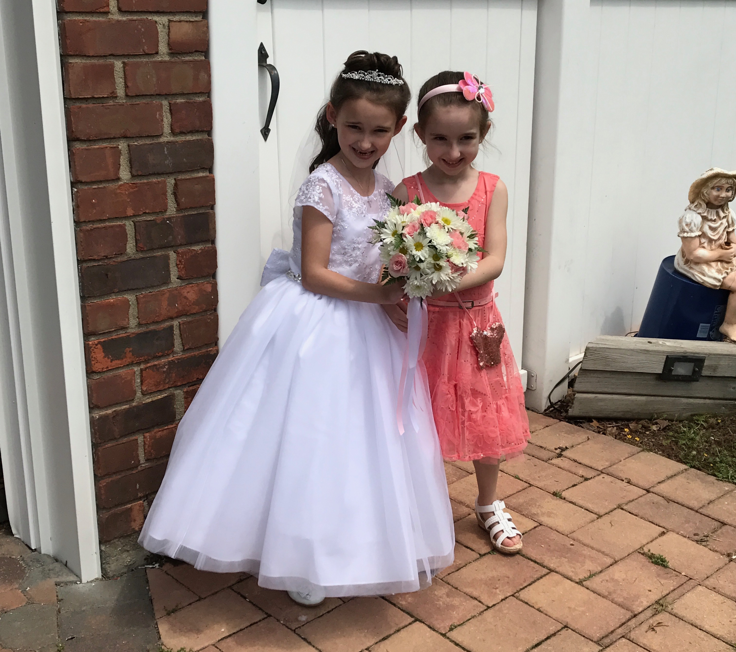 The Girls on Communion Day 2017