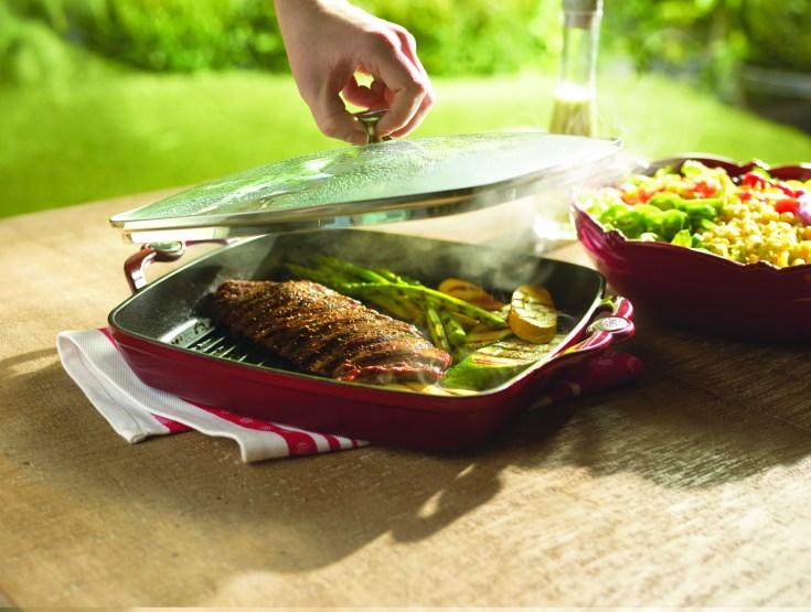 Steak Arrachera in Pan