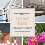 DIY Home Projects Every Mom Should Consider