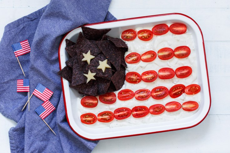 Heluva Good! Patriotic Flag Dip