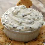 Chocolate Chip Cannoli Dip with Eggo Toast Dippers