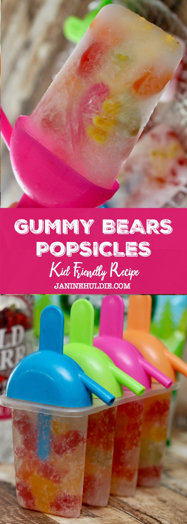Gummy Bears Popsicle Recipe