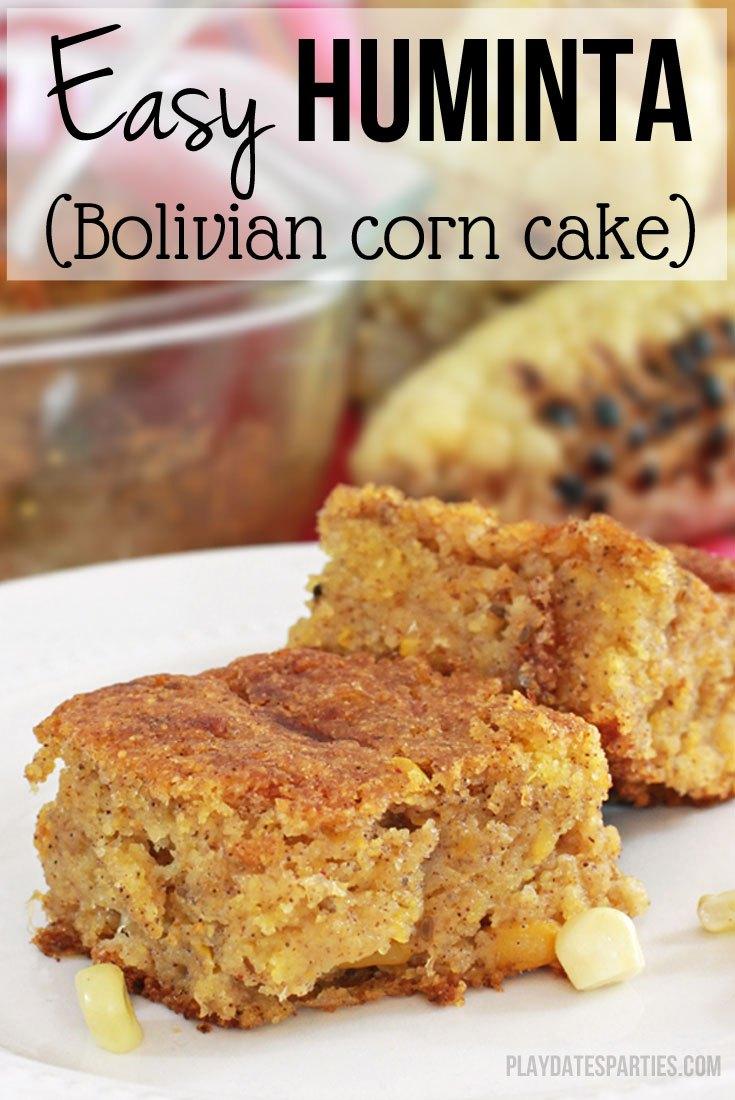 How to Make Easy Huminta Bolivian Corn Cake