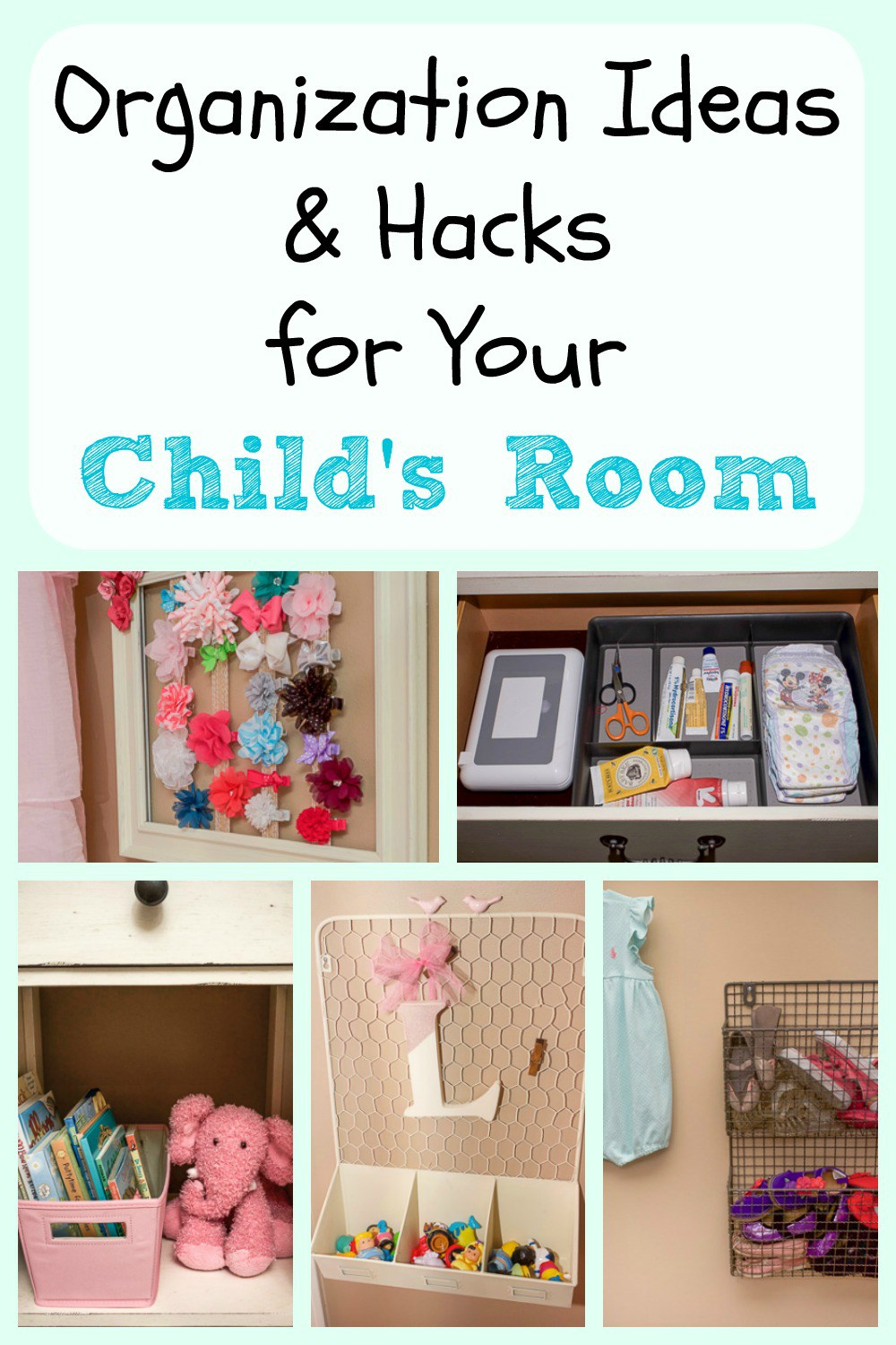 How to Organize Your Kids Bedroom