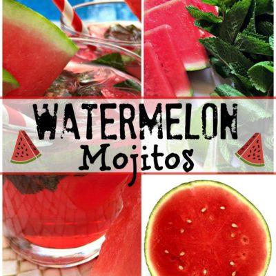 Watermelon Mojitos Recipe TSSBH