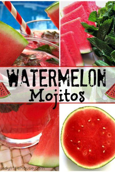 Watermelon Mojitos Recipe