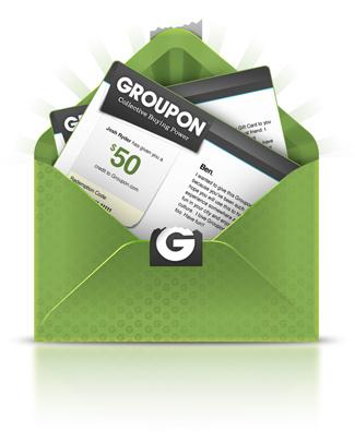 groupon envelope
