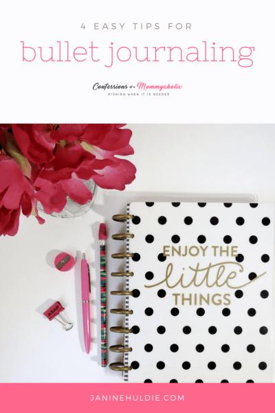 4 Easy Tips for Bullet Journaling