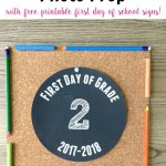 Easy 10 Minute Back to School Photo Prop #TSSBH