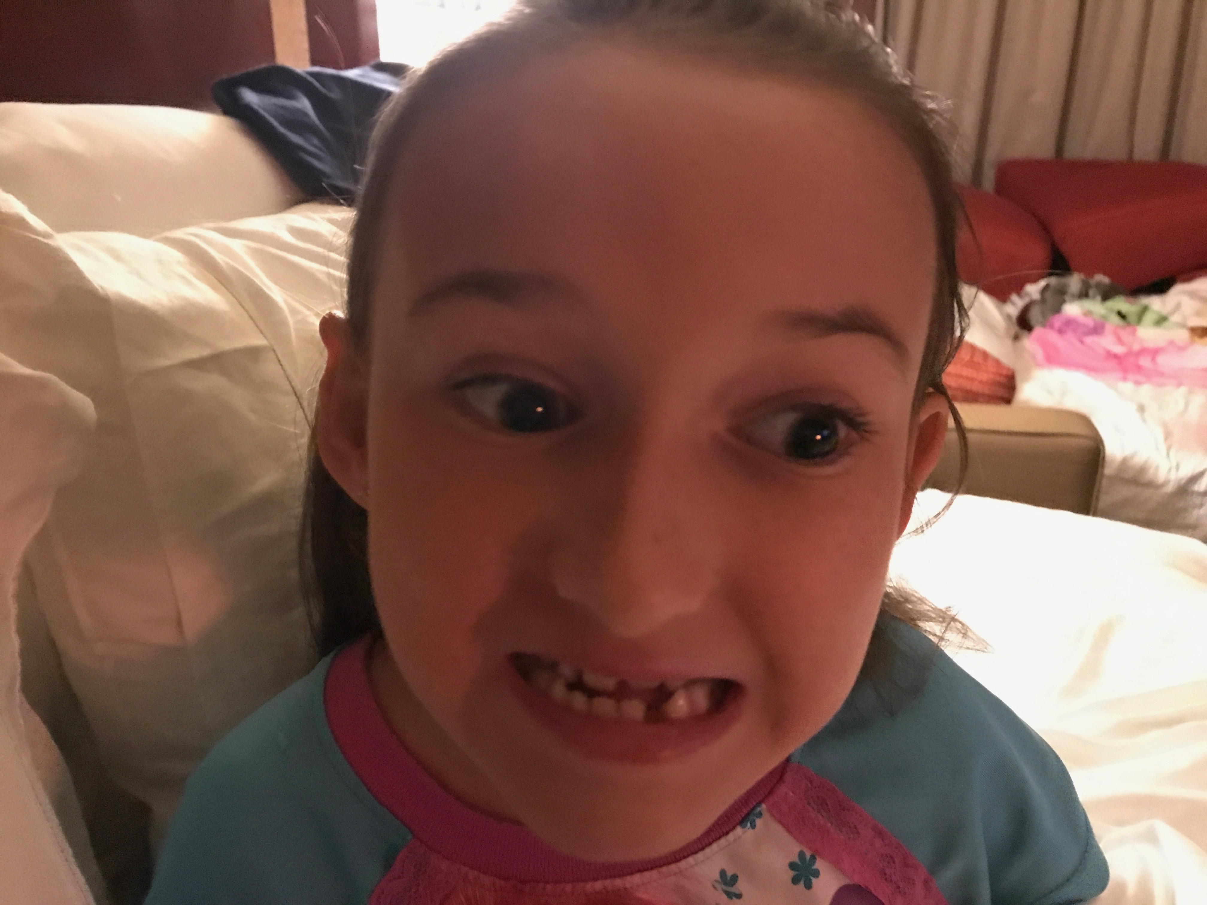 She lost her 5th Tooth on Disney's Magic Kingdom Splash Mountain