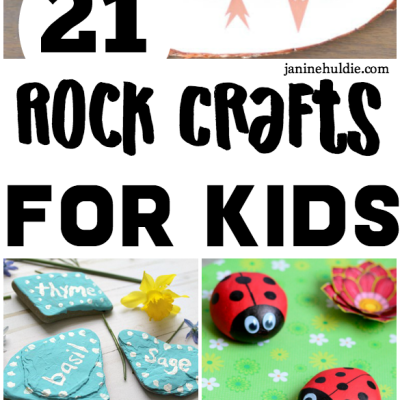 21 Fun Rock Crafts for Kids