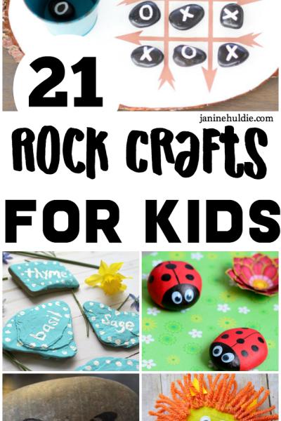 21 Rock Crafts for Kids