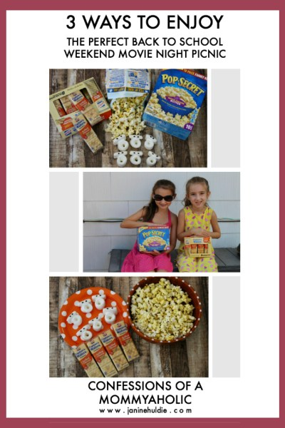 Short Pin for 3 Ways to Enjoy Perfect Back to School Movie Night