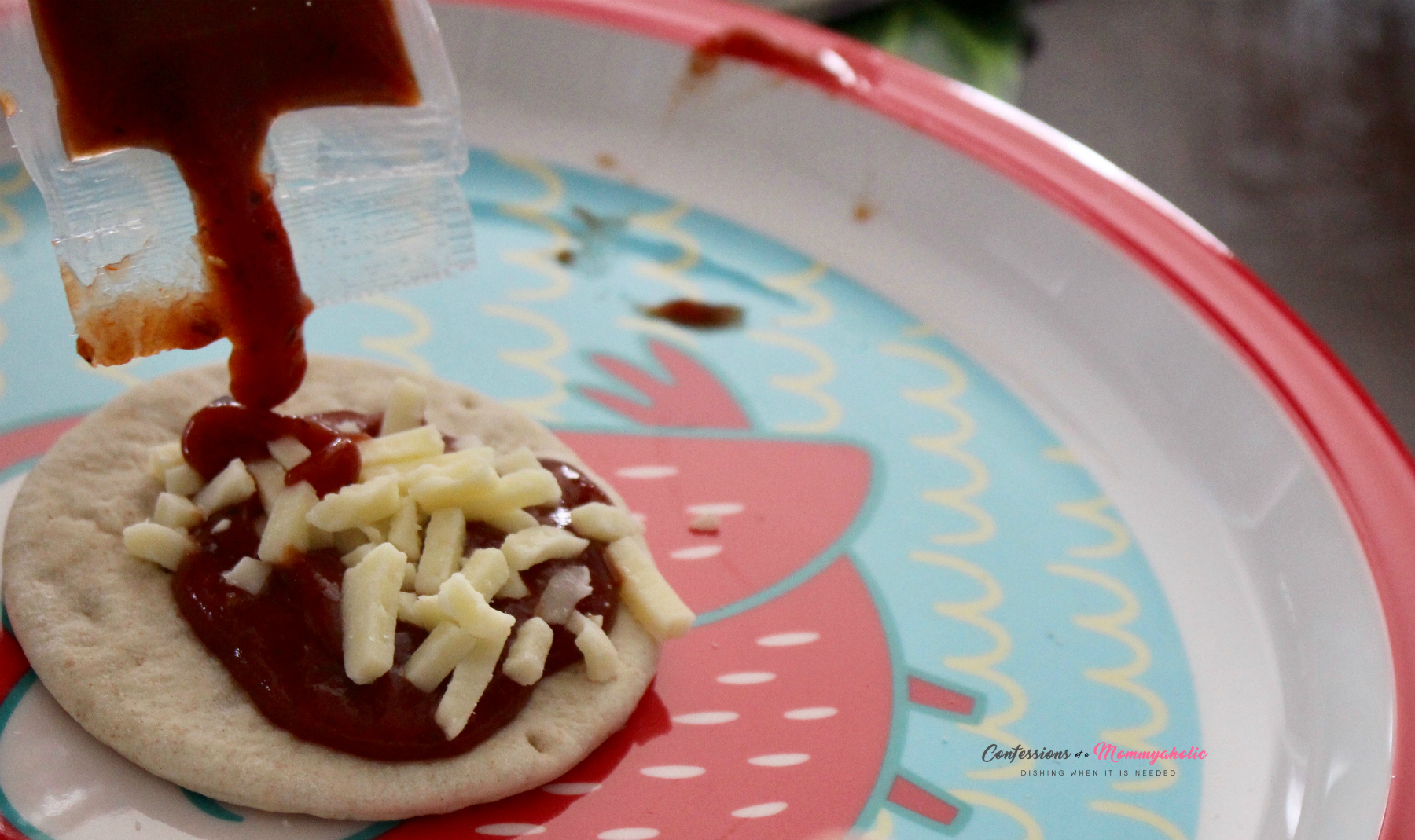 Making Pizza Lunchables