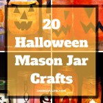 20 Halloween Mason Jar Crafts