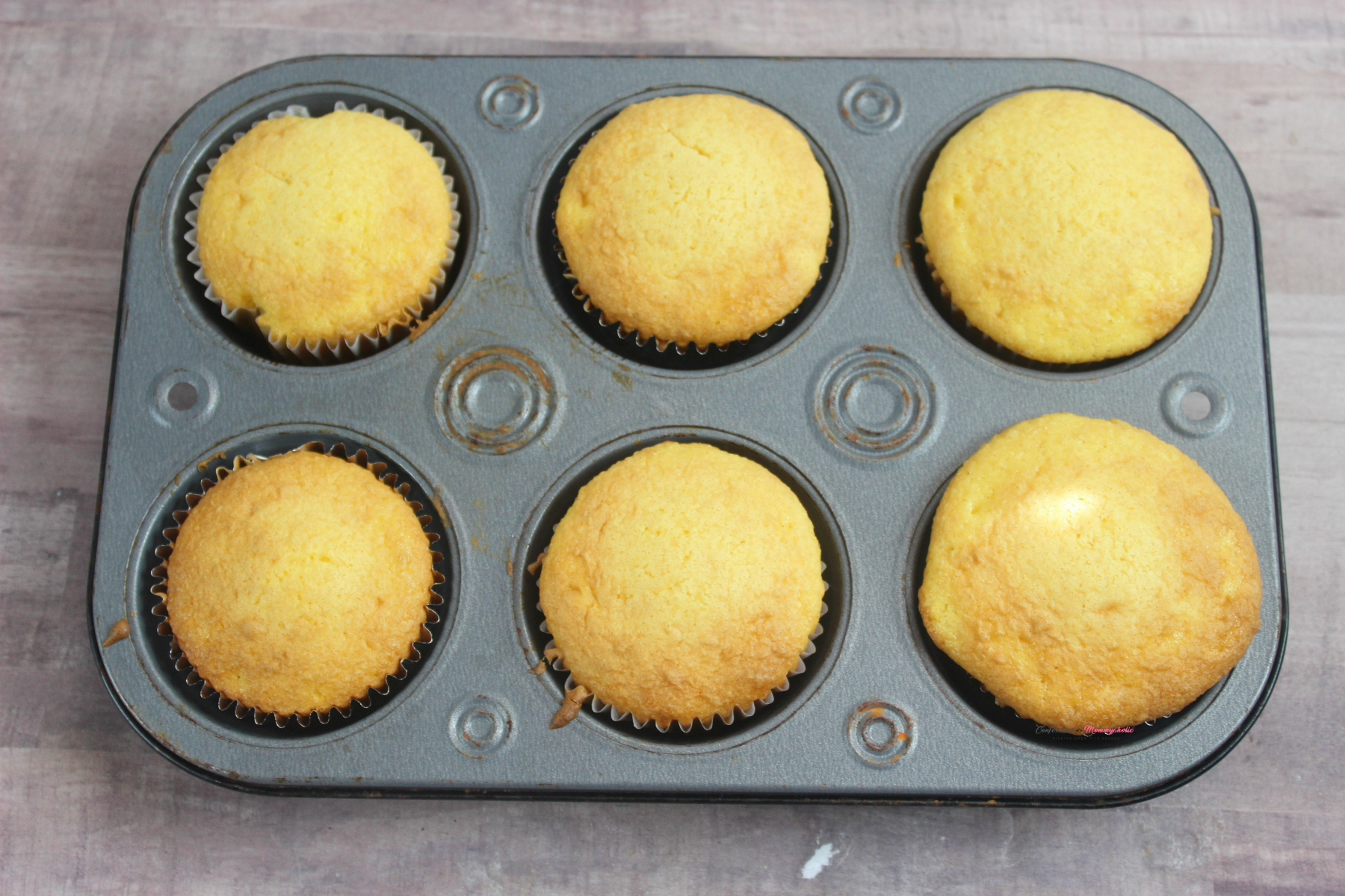 Plain Undecorated Cupcakes