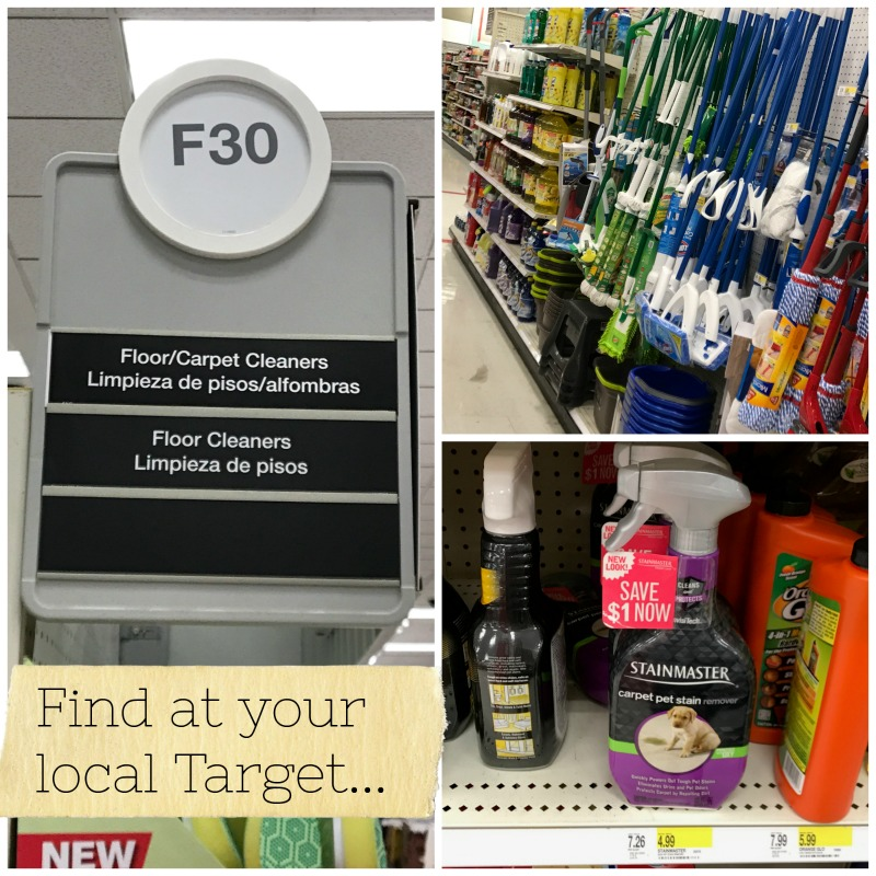 STAINMASTER Target Product Collage
