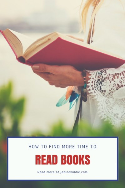 How to Find More Time to Read Books
