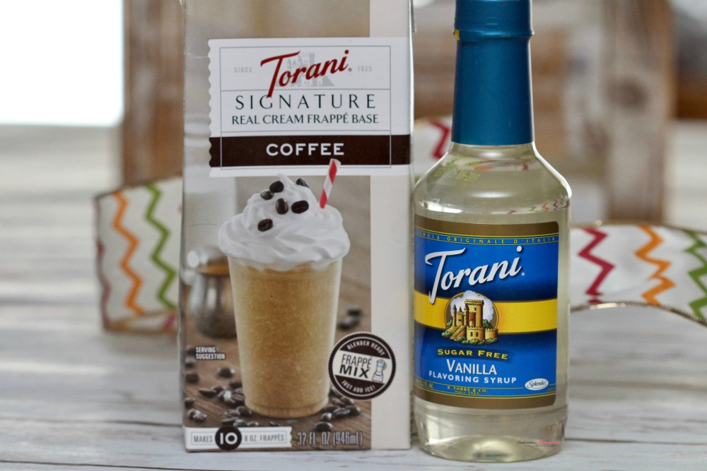 Torani Frappe Base and Vanilla Syrup