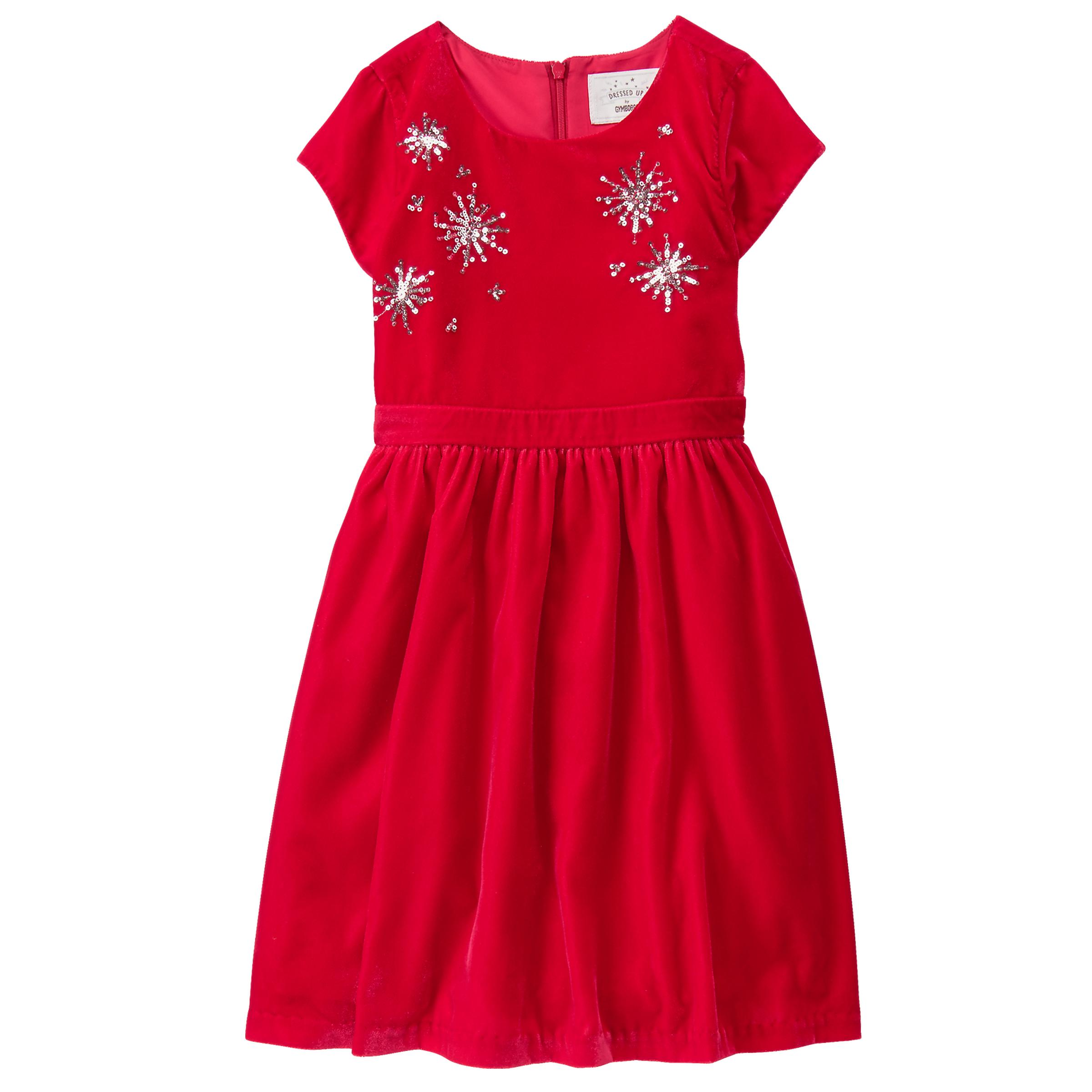 Holiday Velvet Dress from Gymboree