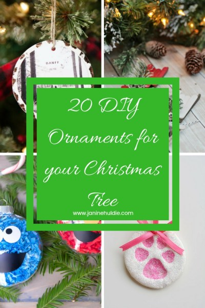 20 DIY Ornaments for your Christmas Tree
