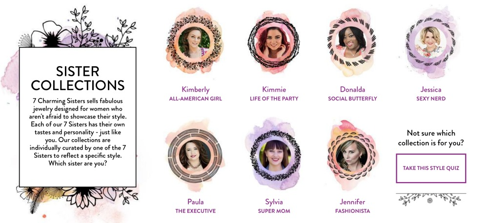 7 Charming Sisters Collections for Jewelry Gift Options
