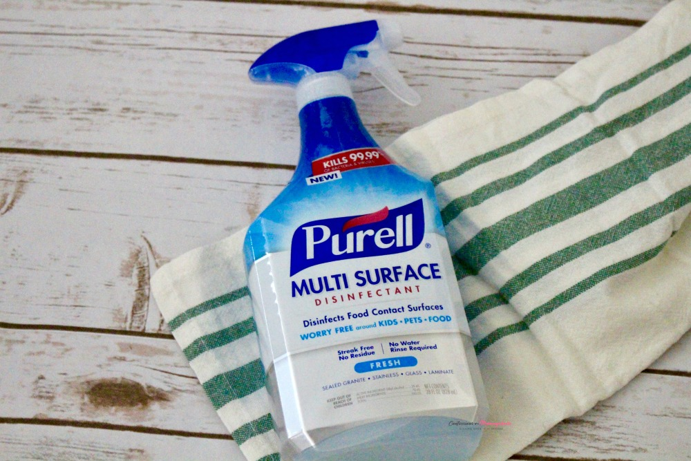 PURELL Multi Surface Disinfectant Horizontal 1