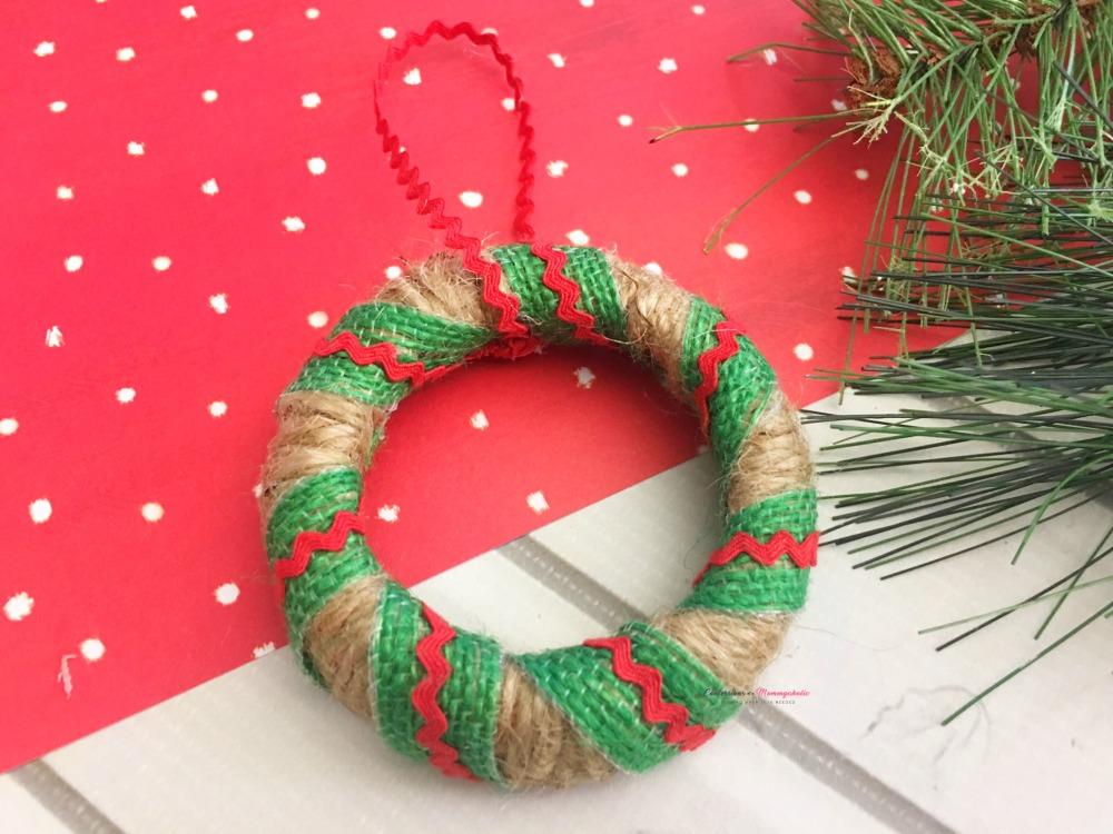 Step 5 Wreath Mason Jar Lid Ornament