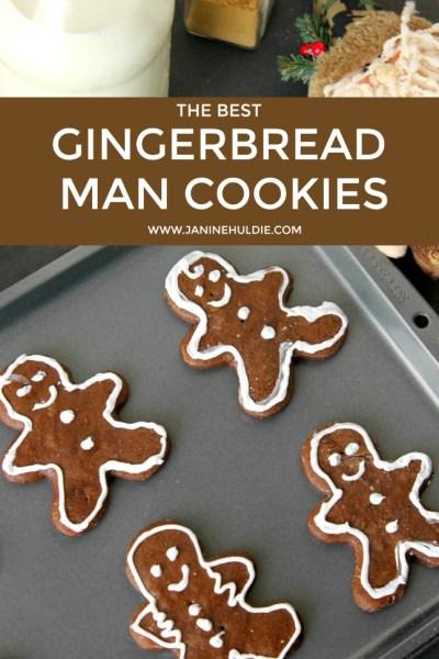 The Best Gingerbread Man Cookies