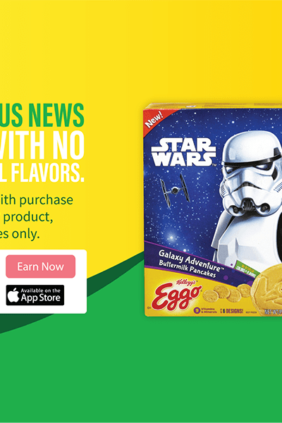 Eggo Star Wars Promo Badge