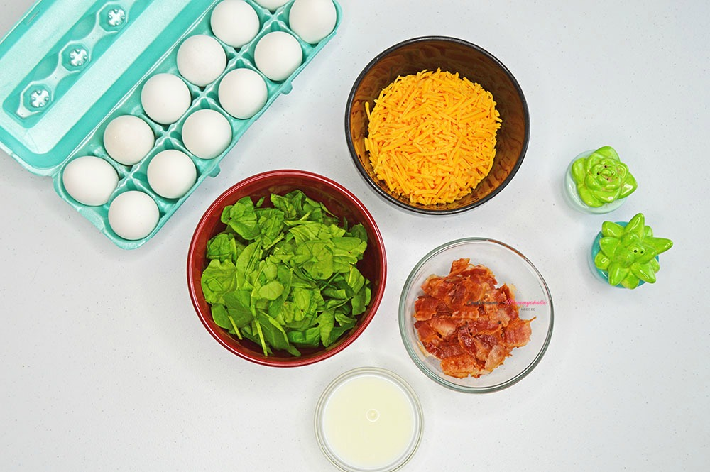 Ingredients for Egg Cups