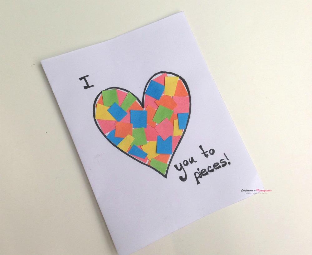 Pieces Heart Card Step (6) WM