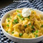 Slow Cooker Cheesy Potato Casserole Recipe