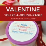 You're A-Dough-Rable Valentine Gift Craft For Kids
