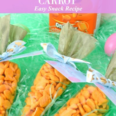 Easy Goldfish Carrot Snack Recipe Featured Image