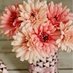 Duck Tape Spring Mason Jar Vase DIY Craft