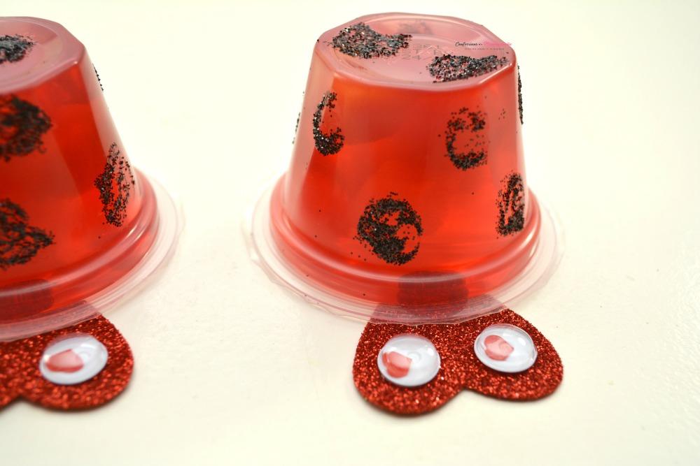 Step 4 for Ladybug Fruit Cups Snack for Kids