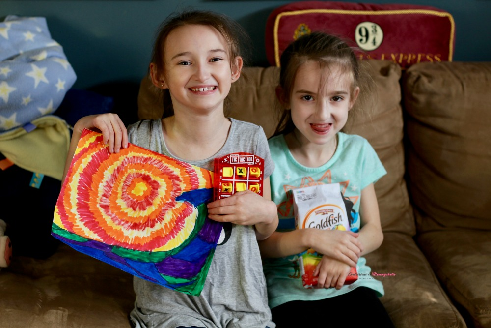 Both girls Goldfish Article