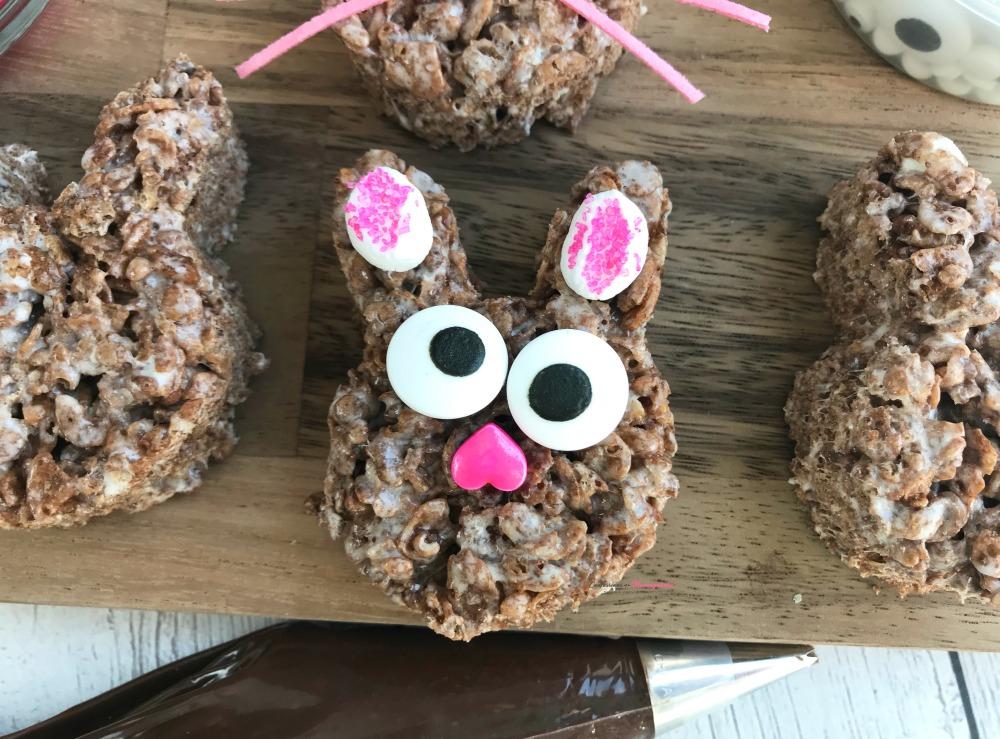 Chocolate Rice Krispies Bunny Treats Recipe Step 2