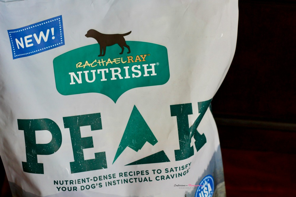 Closeup of PEAK Nutrish