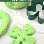 St. Patrick's Day Green Edible Jello Playdough For Kids