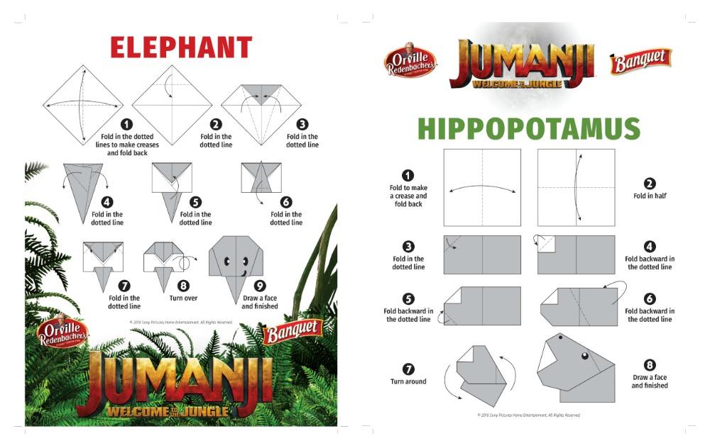 Elephant and Hippopotamus