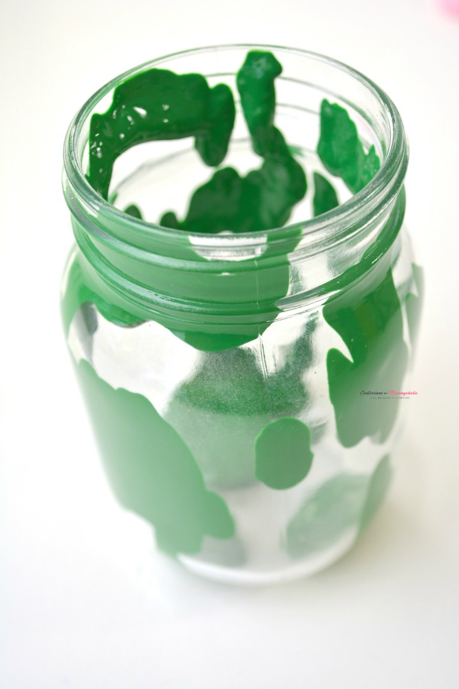 Leprechaun Mason Jar Step 1