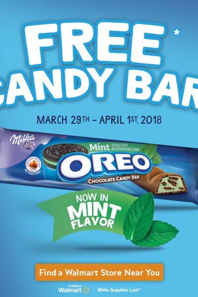 Oreo Free Candy Bar Promo