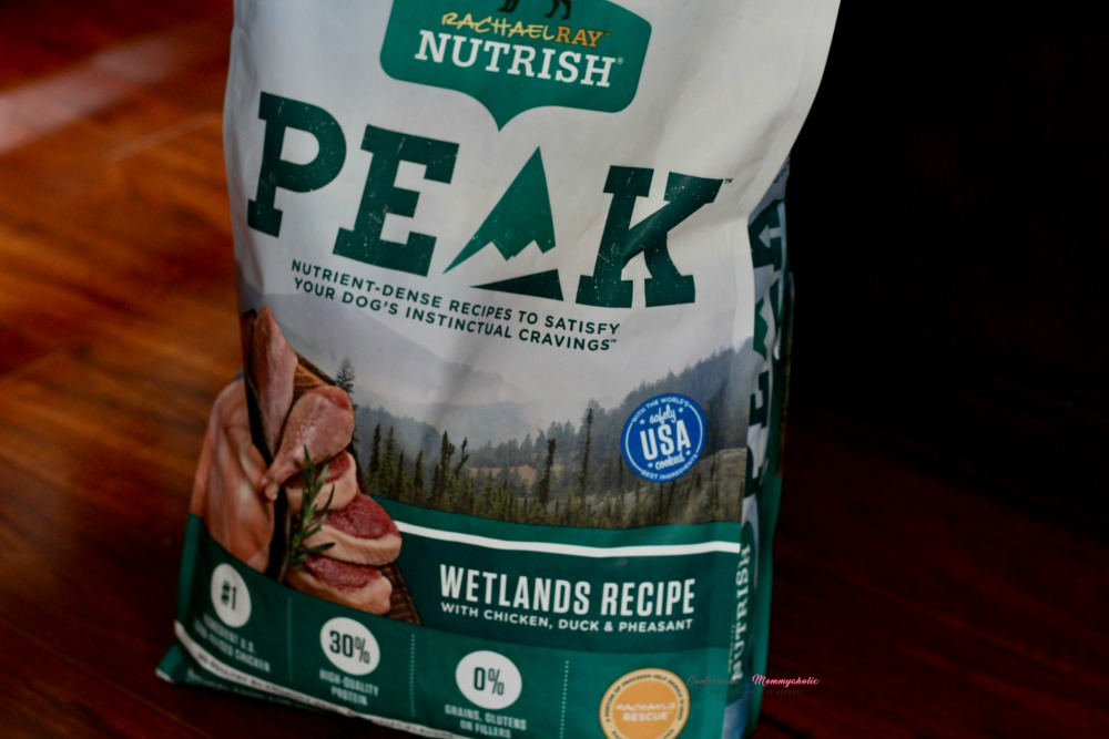 Not as Closeup of PEAK Nutrish