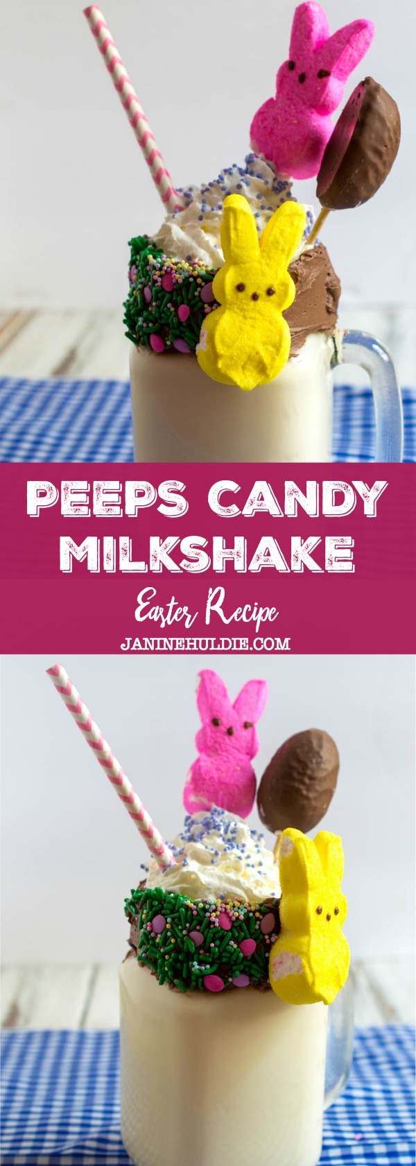 Peeps Candy Milkshake Recipe