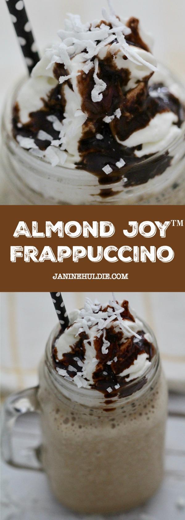Almond Joy Frappuccino Recipe