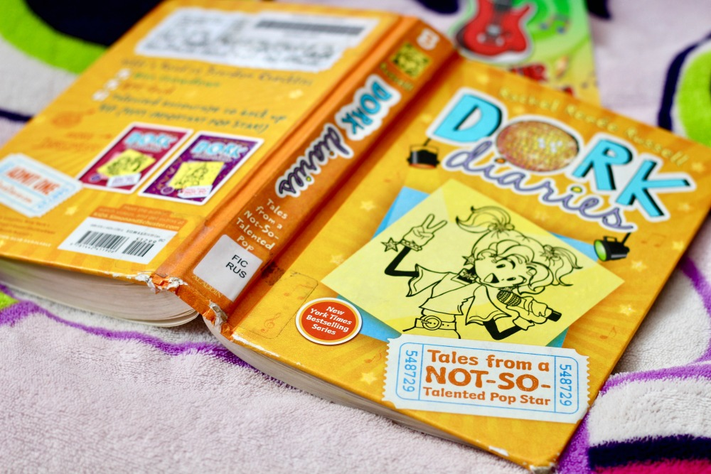 Dork Diaries Open Book